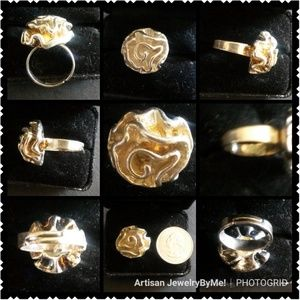 NewVintageFROM 70's StockLargeRose Ring